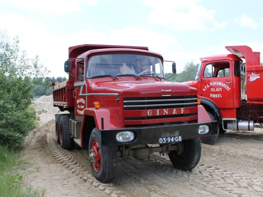 Ginaf truck 6x6