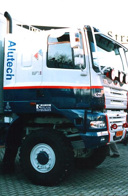 GINAF X3331 Dakar rally service truck