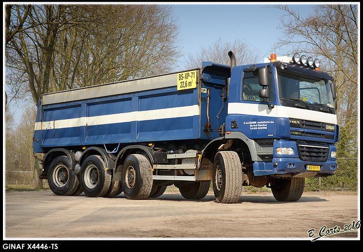 GINAF X4446-TS van P. van de Sande, Berkel-Enschot