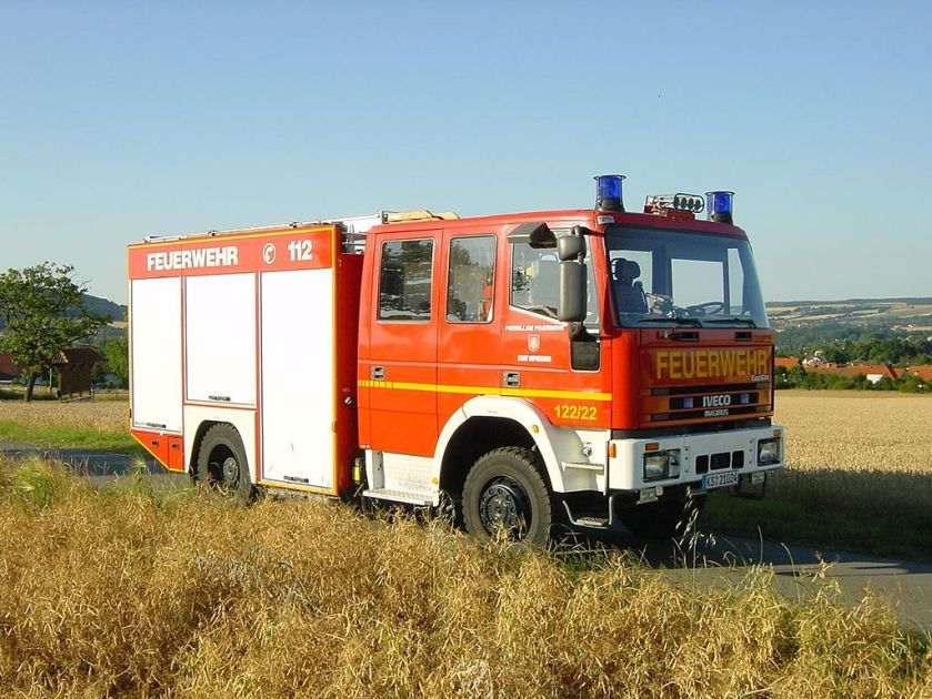 Iveco Magirus fire engine