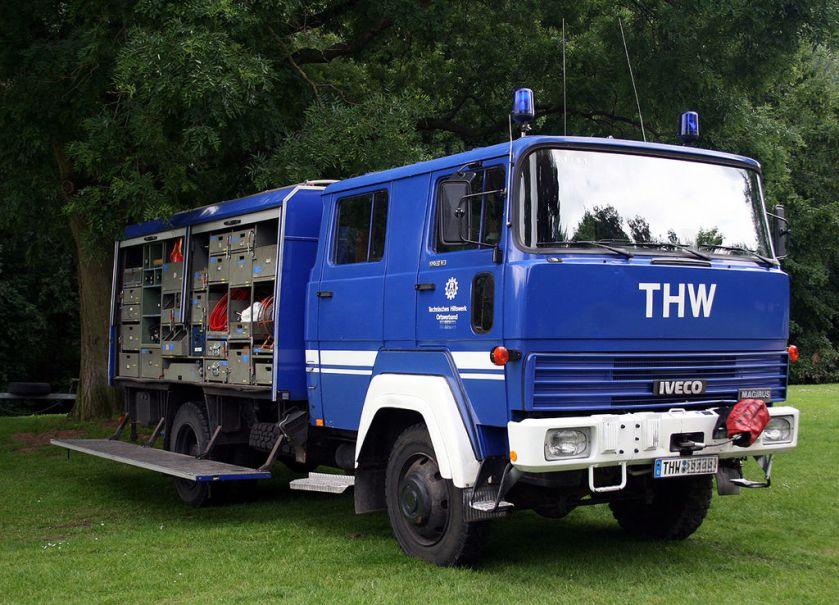 Iveco Magirus THW-Gerätekraftwagen