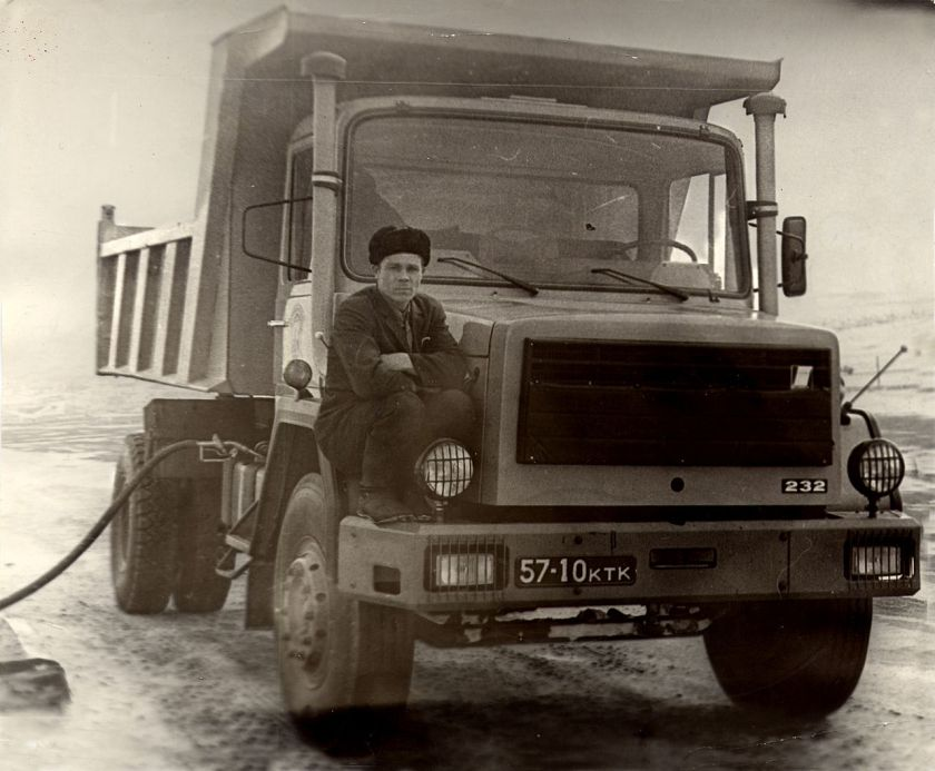 Magirus 232 in the USSR