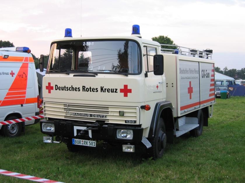Magirus Deutz 130 Gerätewagen-Sanität (DRK-Bocholt)