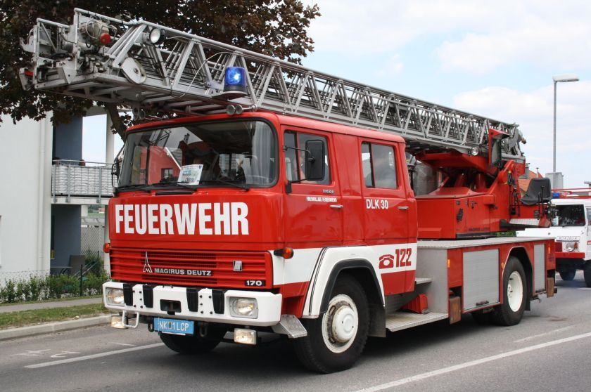 Magirus Deutz 170, fire engine