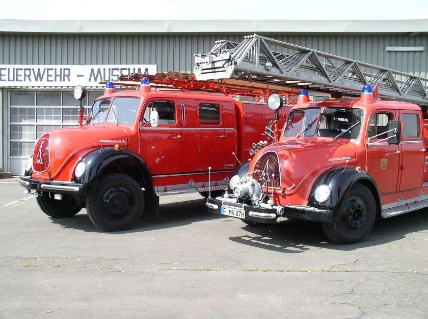 Magirus Deutz FRA_Feuerwehr-Museum_Trucks