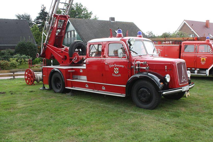Magirus Deutz Greffen Feuerwehr 1