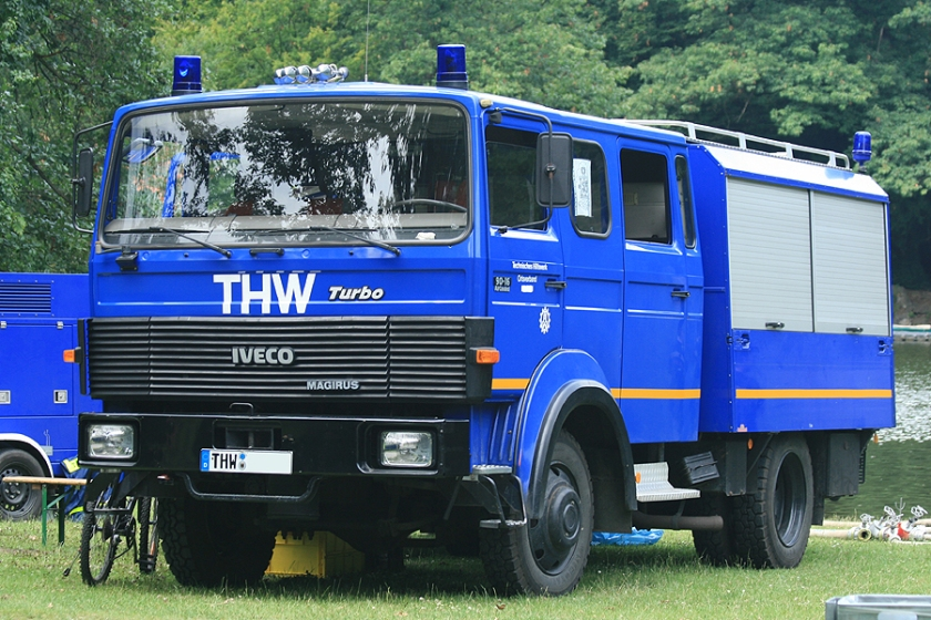 Magirus Deutz Iveco 90-16 turbo THW