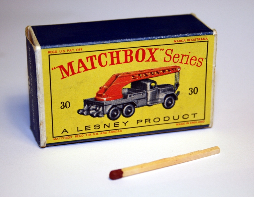 Magirus Deutz Kranwagen Lesney-matchbox