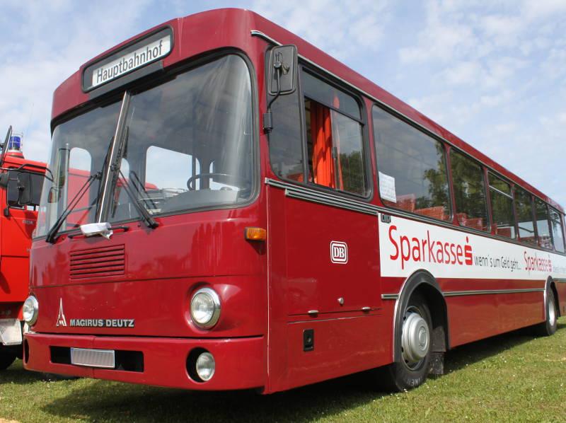 Magirus Deutz L117 Bahnbus Thannhausen