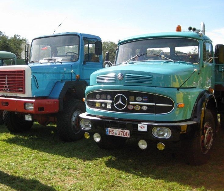 Magirus Deutz, Mercedes-Benz