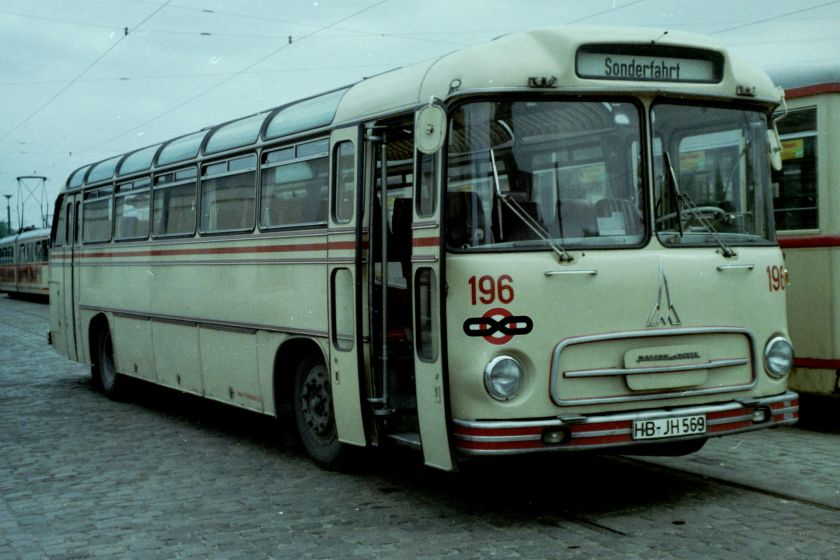Magirus Deutz Saturn II L Linienbus BSAG 196-III