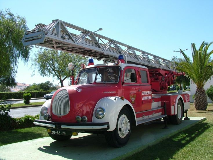 Magirus Deutz Turntable Ladder