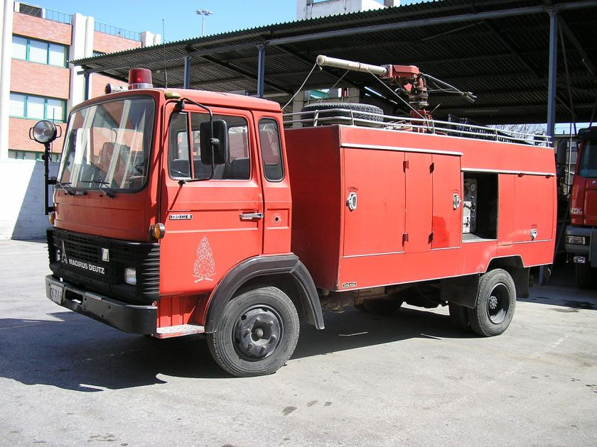 Magirus Deutz typ 130 M 8 FL HFS THE2 017 Powder
