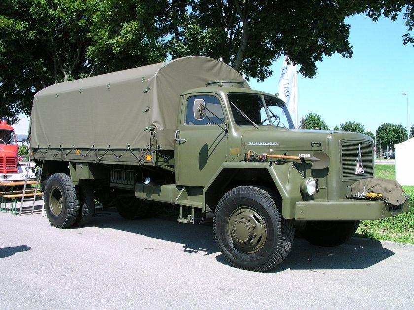 Magirus Deutz typ A 6500 Militärpritsche
