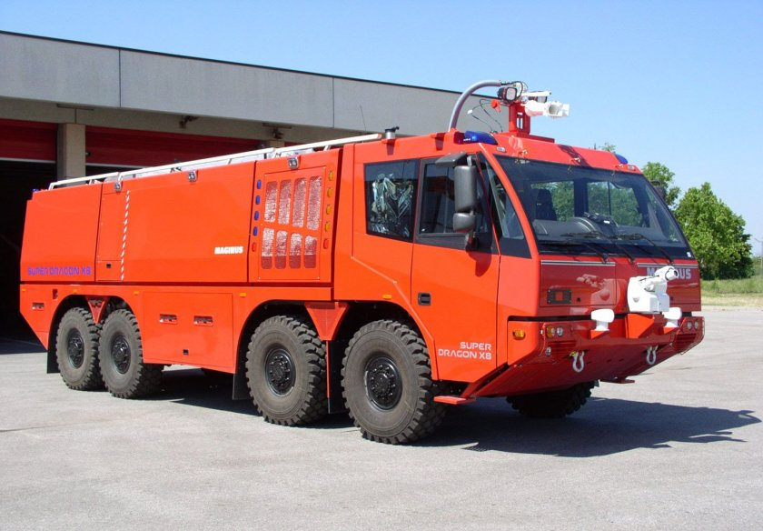 MAGIRUS SUPER DRAGON X8a