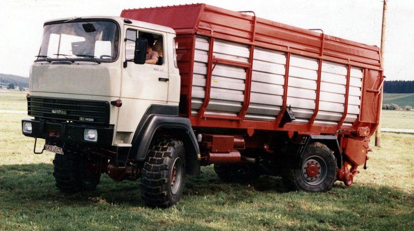 Prototyp eines Agrobils von Rhein-Bayern mit Magirus-Deutz D-Kabine