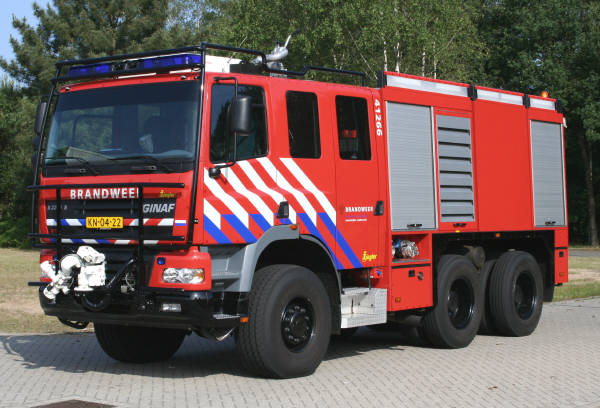 Royal Dutch Army Ginaf X3335S watertender