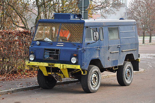 Volvo C303 Police