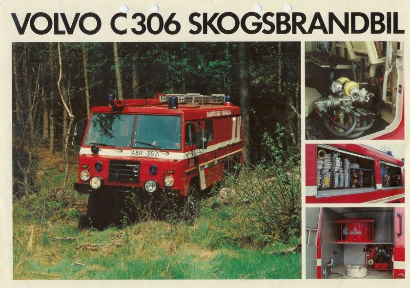 Volvo C306 Firetruck