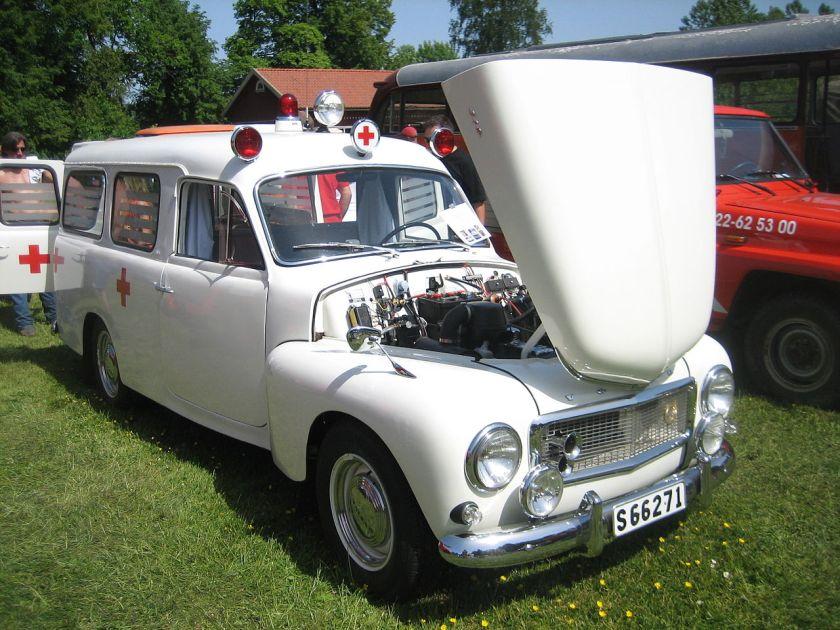 Volvo duett ambulance