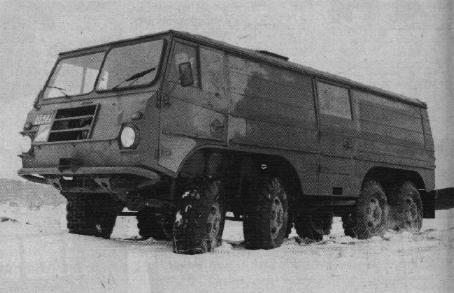 Volvo Lapplander 8х8 – L 4230