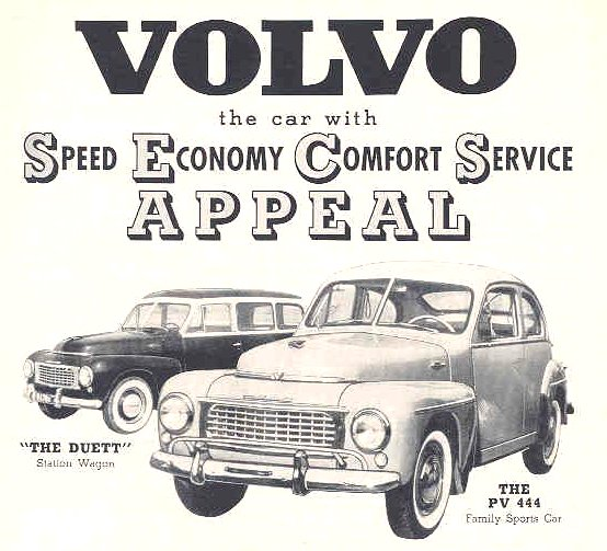 volvo pv444 70 years of Volvo