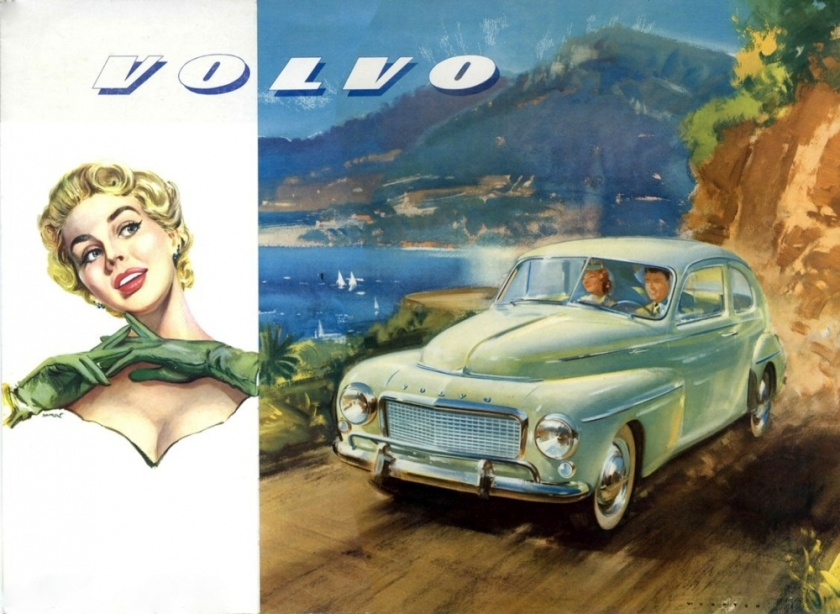 Volvo PV444 ad