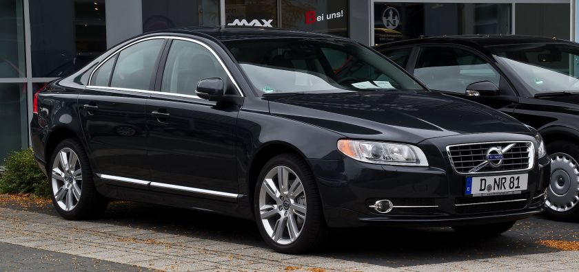 Volvo S80 D5 Momentum (II, Facelift) – Frontansicht