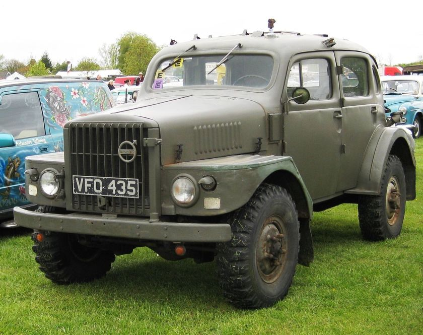 Volvo TP21 all-terrain military style vehicle