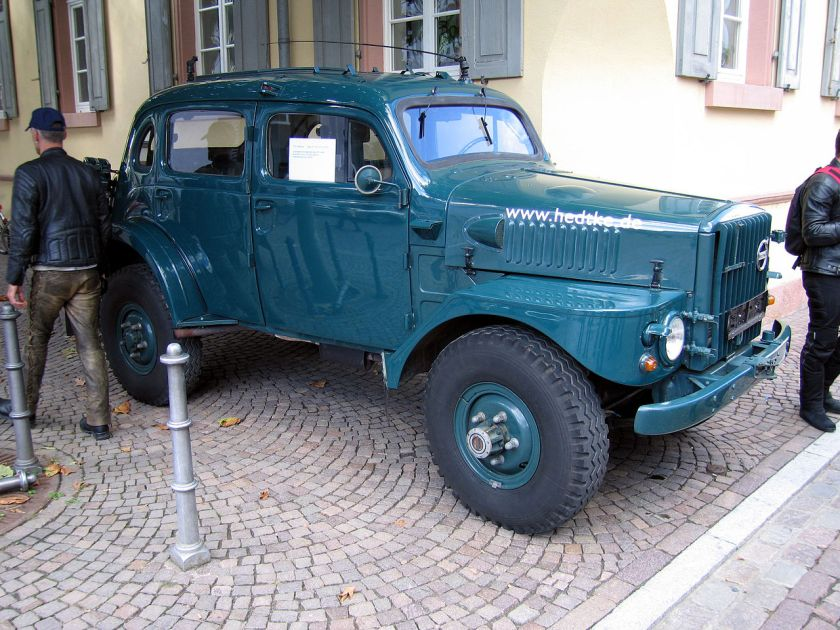 Volvo TP21 Military
