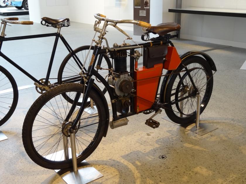1902 Laurin & Klement motocykleta typ B 01