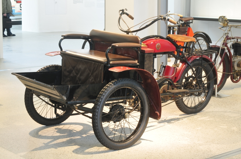 1904 Laurin & Klement motocykleta