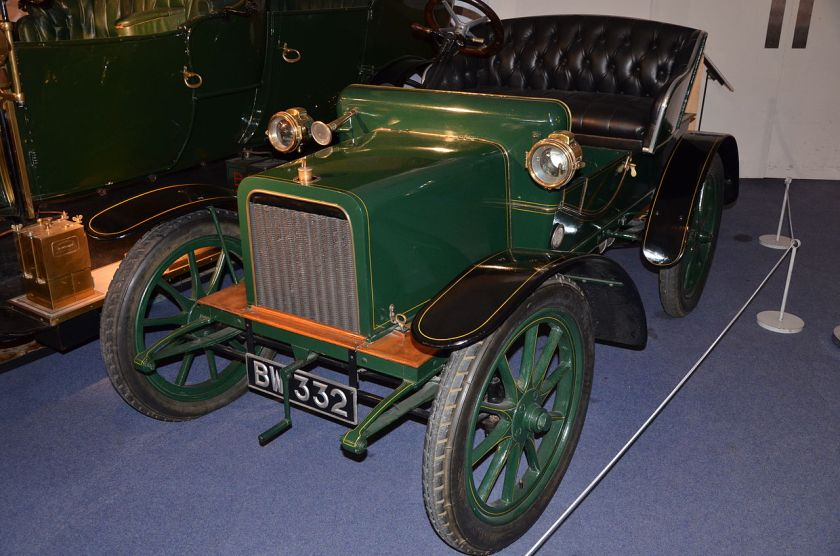 1904 Rover 8 at Coventry Motor Museum