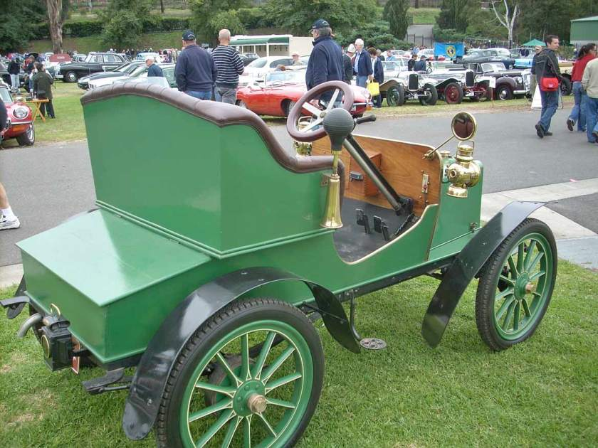 1905 Rover 6 hp open 2-seater single-cylinder 780 cc rear