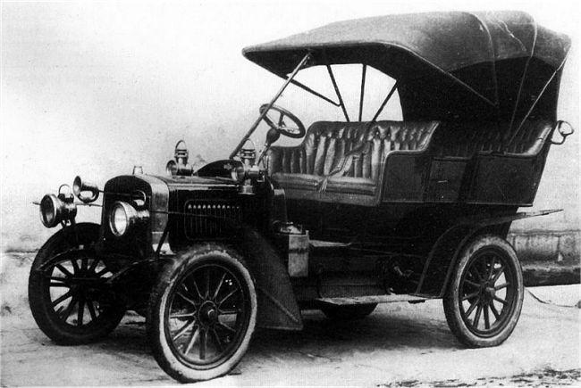 1906 Laurin & Klement B 8-9 HP, Rakousko-Uhersko (Čechy)