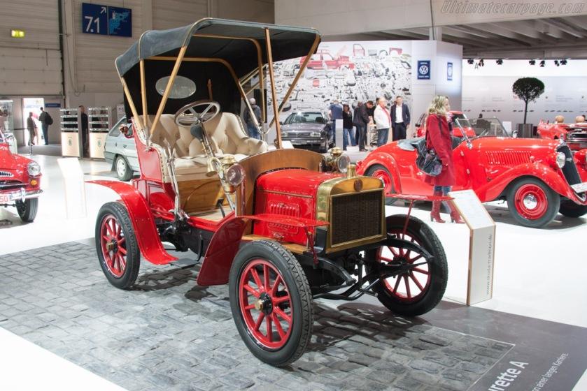 1906 Laurin & Klement Voiturette A b