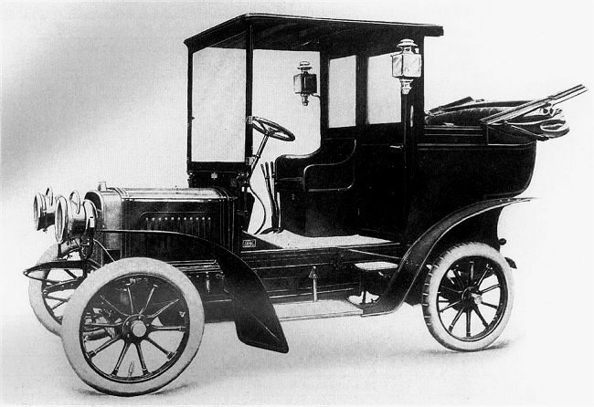 1907 Laurin & Klement B2 10-12 HP, Rakousko-Uhersko (Čechy)