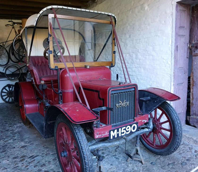1907 Rover 8 Erddig, Wrexham, North Wales