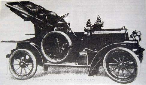 1908 Laurin & Klement typ BS 1399ccm a