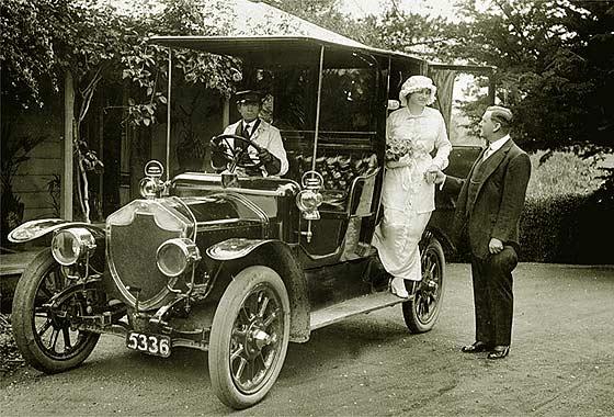 1909 Rover 15 Tourer