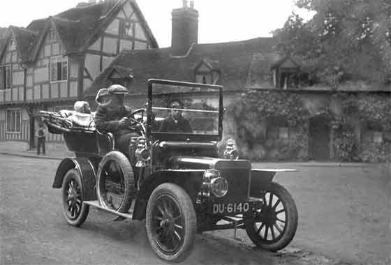1910 Rover 8HP