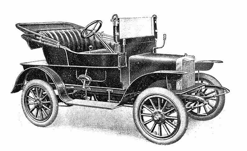 1910 Rover Six