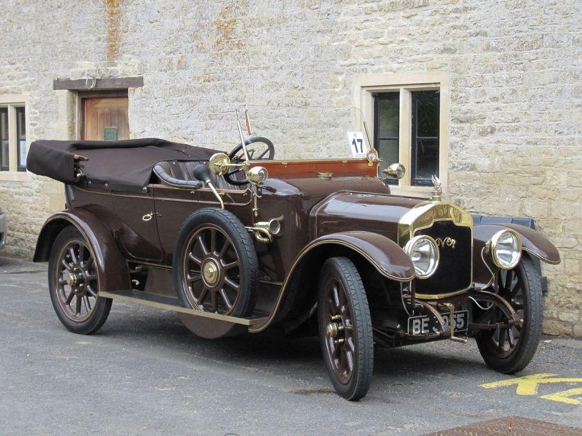 1914 Rover 12 glegg tourer (5870911466)