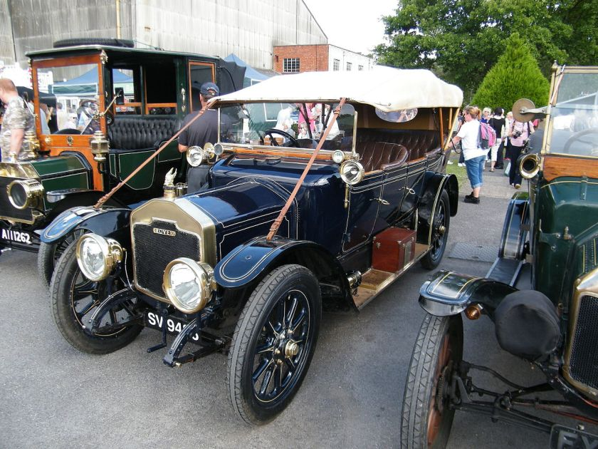 1914 Rover 12 Glegg tourer SV9486 (DVLA) first registered 24 January 1921