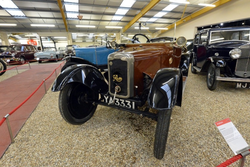 1922 Rover 8 HP air cooled Drophead Tourer