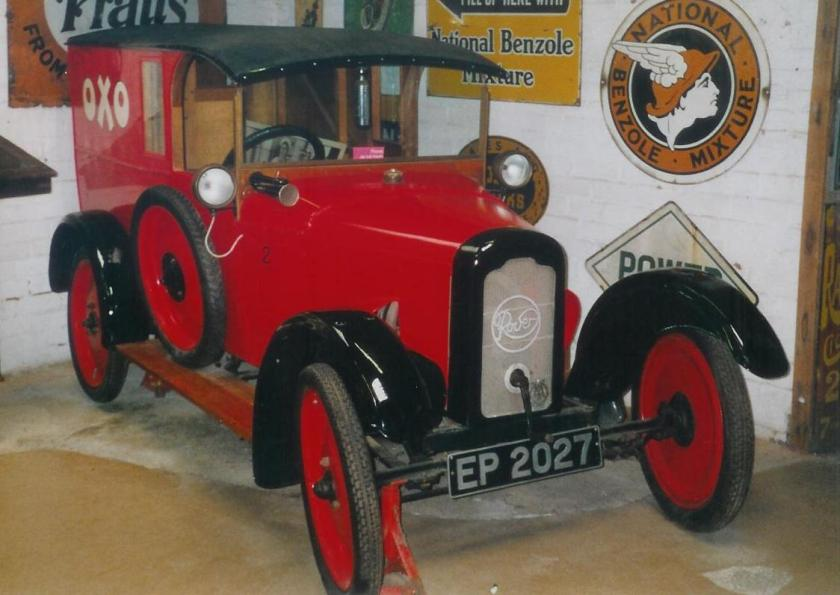 1922 Rover 8 Van (DVLA) first registered 17 October 1922, 1050 cc