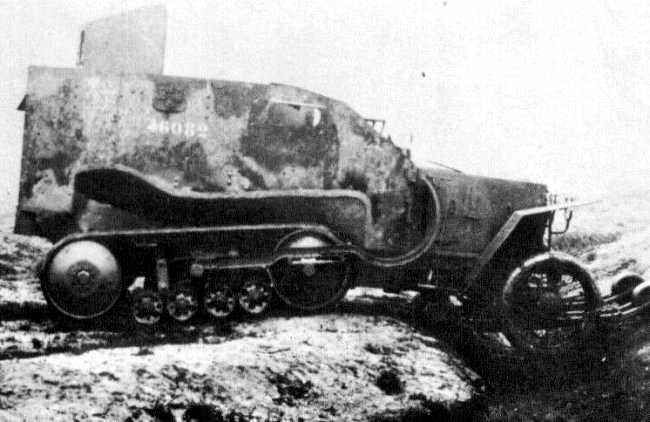 1923 Peugeot-Kegresse