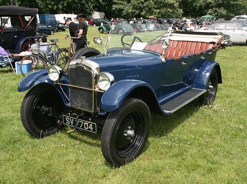 1925 Rover 14-45 bl cabriolet