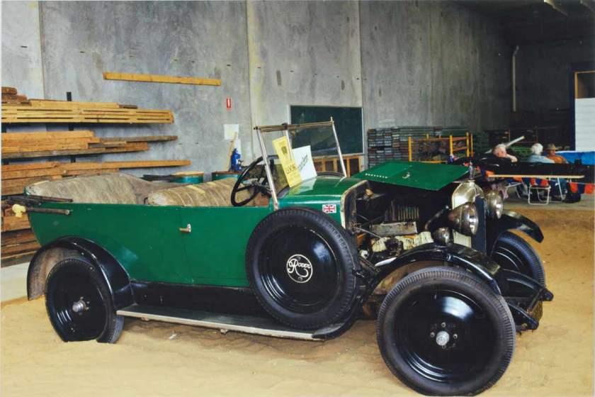 1925 Rover 4 seater tourer (5119287962)