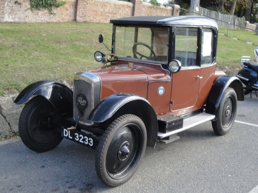 1925 Rover 8 DL 3233